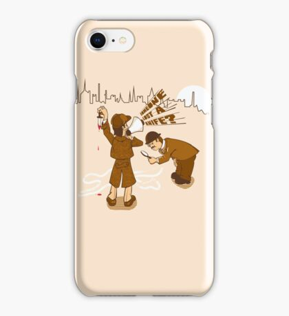Worst detective EVER! iPhone Case/Skin