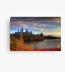 Fall colours - Ottawa, Ontario Canvas Print