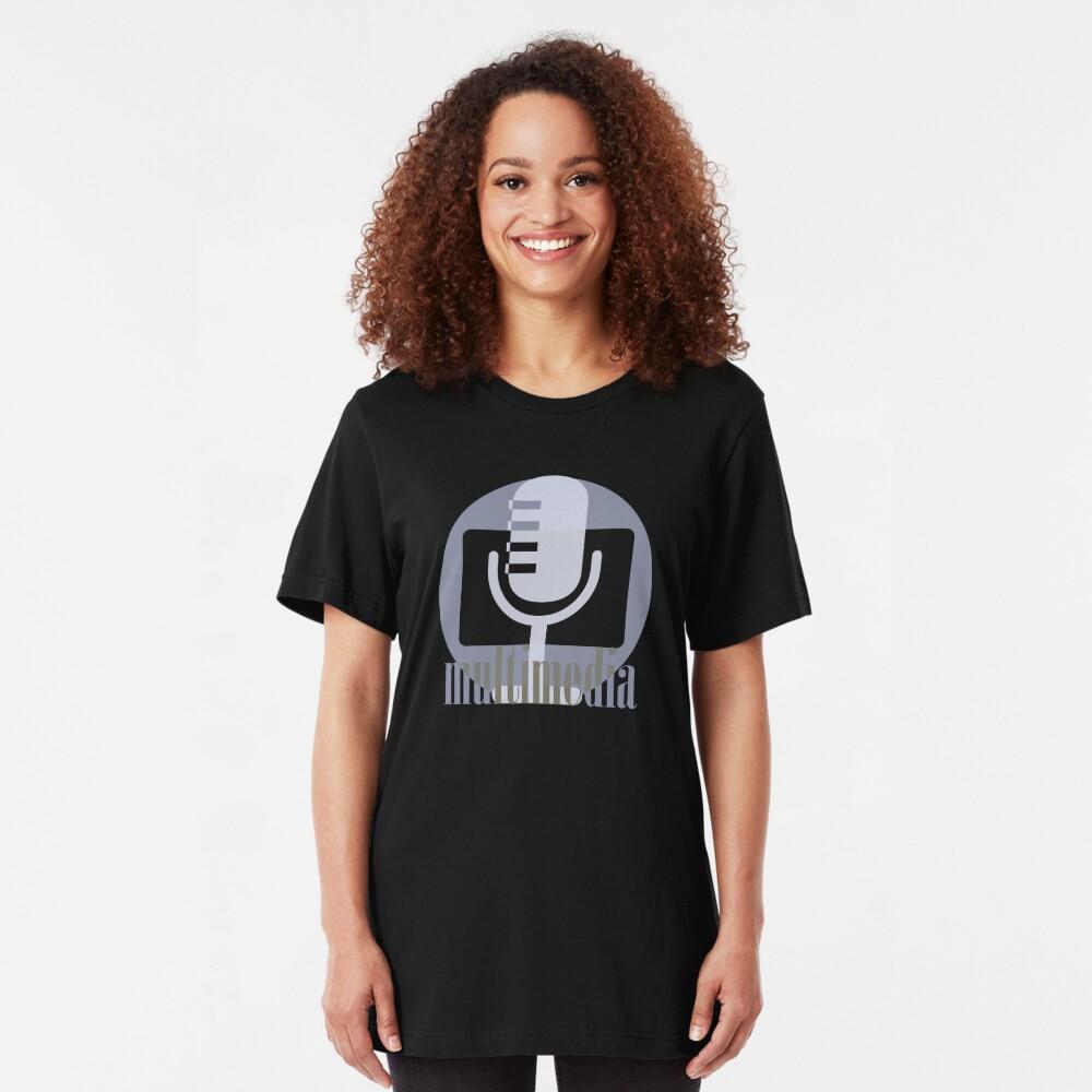 Multimedia Slim Fit T-Shirt