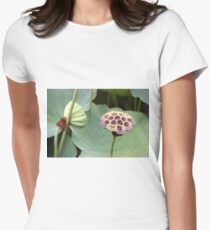 Down In The Lotus Pond Womens Fitted T-Shirt