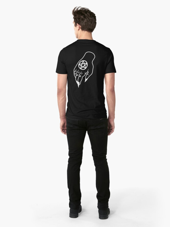 Alternate view of The Devil Is Gay Slim Fit T-Shirt