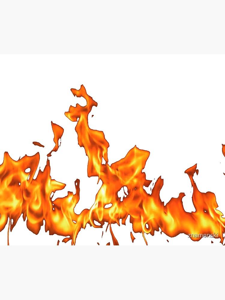 #Flame, #Forks of flame, #Spurts of flame, #fire, light, flames by znamenski