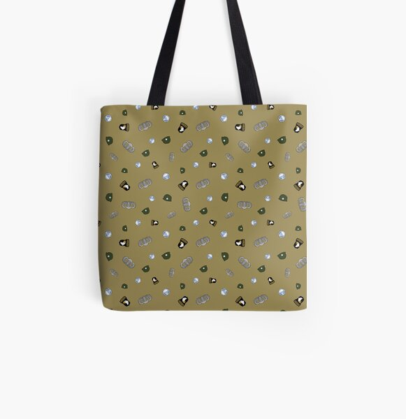 Iconic 506th Parachute Infantry Regiment All Over Print Tote Bag