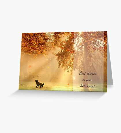 Chasing sunbeams Greeting Card