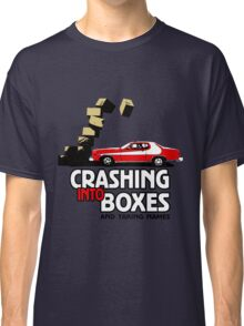 Crashing Into Boxes and Taking Names Classic T-Shirt