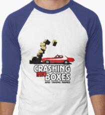 Crashing Into Boxes and Taking Names Men's Baseball ¾ T-Shirt