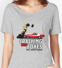 Crashing Into Boxes and Taking Names Women's Relaxed Fit T-Shirt
