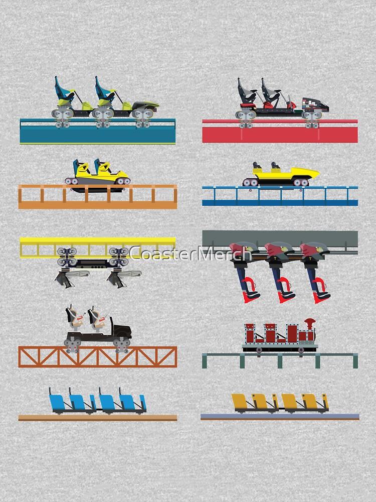 Carowinds Coaster Car Design by CoasterMerch