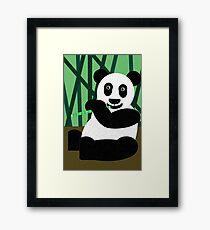 Panda Poster Framed Print
