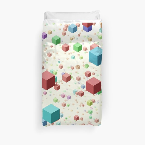 Cube Float Duvet Cover