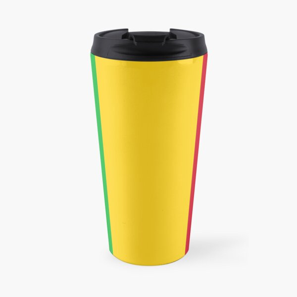 Mali Flag Stickers, Gifts and other Products Travel Mug