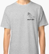 Retro Black Logo Classic T-Shirt
