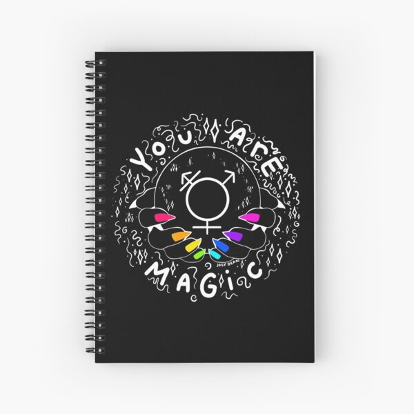 Gays Are Magical Spiral Notebook