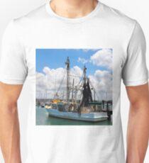 Moored Fishing Boat T-Shirt