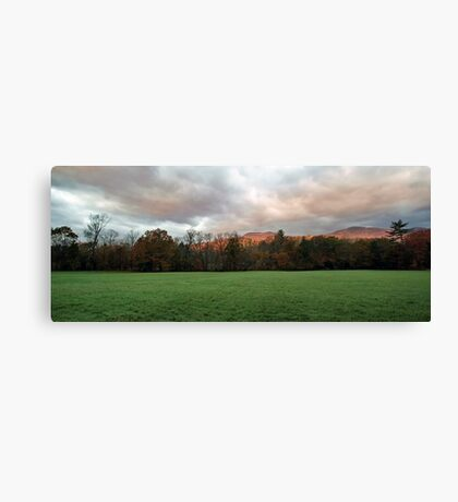 Autumn Landscape - Stow,  Maine Canvas Print