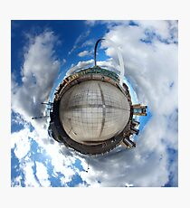Gateshead Quayside Stereographic Projection  Photographic Print