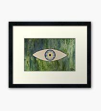Sea Monster Eye Framed Print