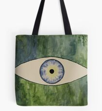 Sea Monster Eye Tote Bag