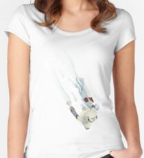 The Missing Wampa Scene Women's Fitted Scoop T-Shirt