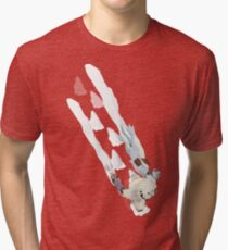 The Missing Wampa Scene Tri-blend T-Shirt