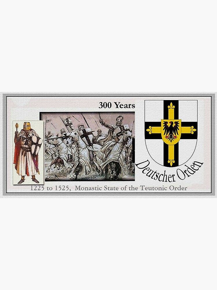 Monastic State of the Teutonic Order, 300 years by edsimoneit