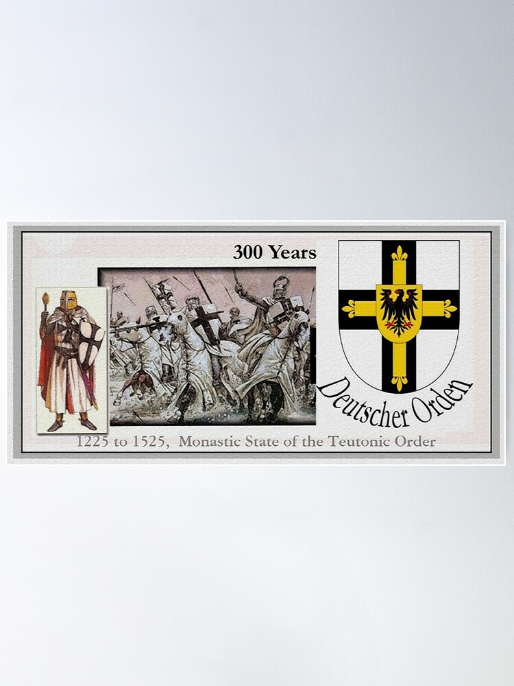 Alternate view of Monastic State of the Teutonic Order, 300 years Poster