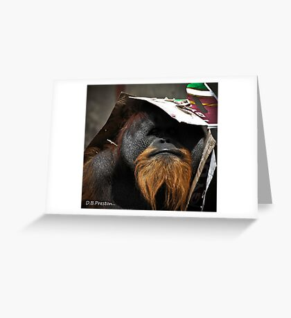 Under Cover Agent Greeting Card