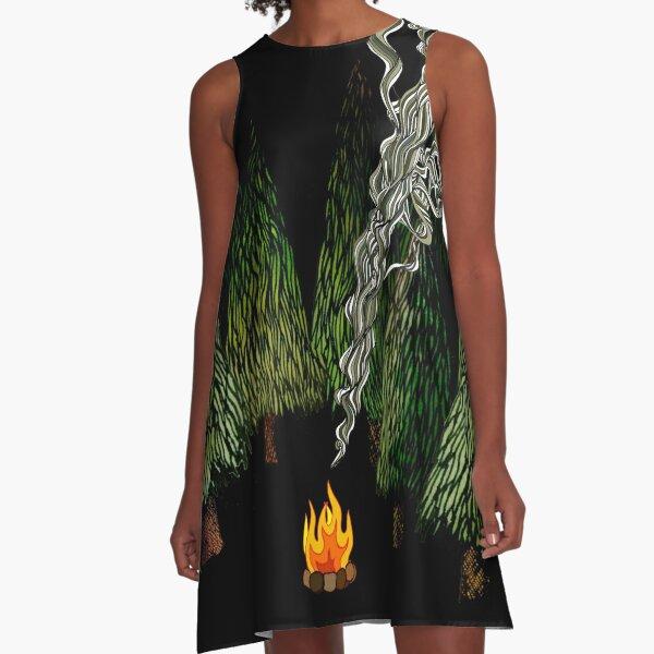 Campfire A-Line Dress