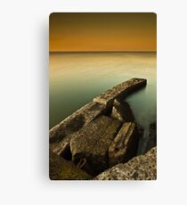 Rusty Old Ruins Canvas Print