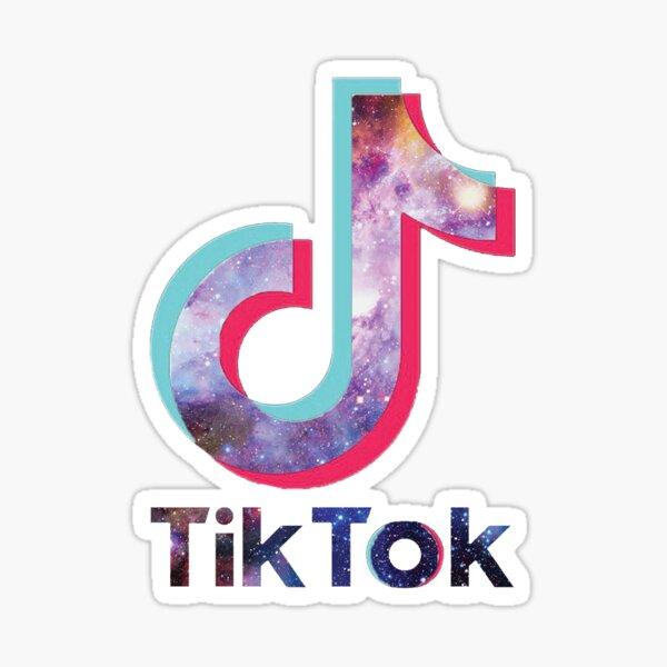 Tik Tok Galaxy Sticker