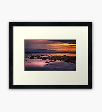 Arran Sunset Framed Print