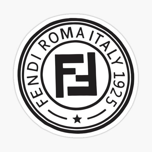 Best-seller - Fendi Roma Logo Merchandise Sticker