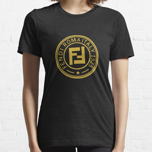 Best-seller - Fendi Roma Logo Merchandise T-shirt essentiel