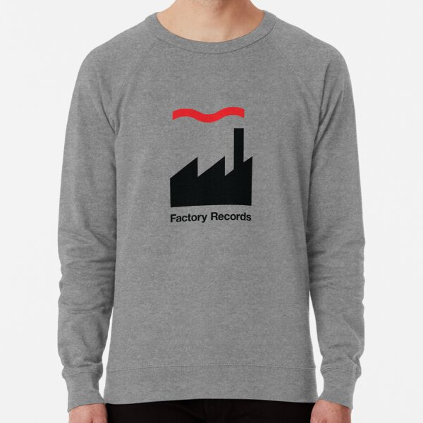 Factory Records Mens Music Hoodie Happy Mondays OMD Retro Record Label