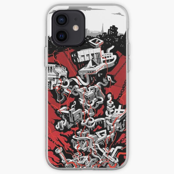 Persona 5 Map iPhone Soft Case