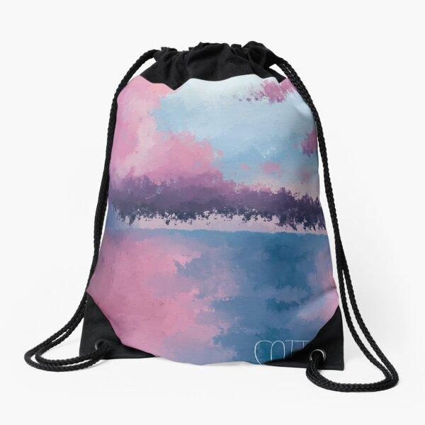 Cotton Candy Drawstring Bag