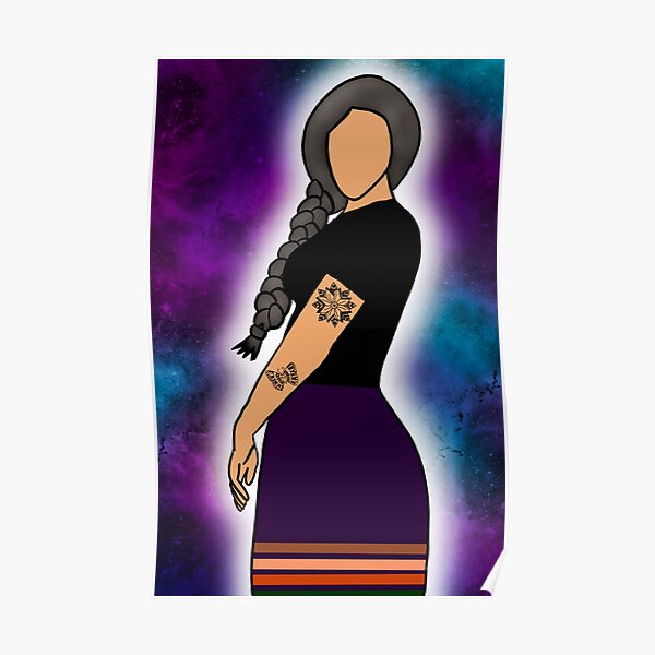 Tattoos and Ribbon Skirts Poster