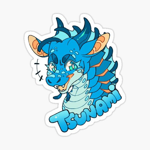 Wings Of Fire WOF Tsunami Sticker