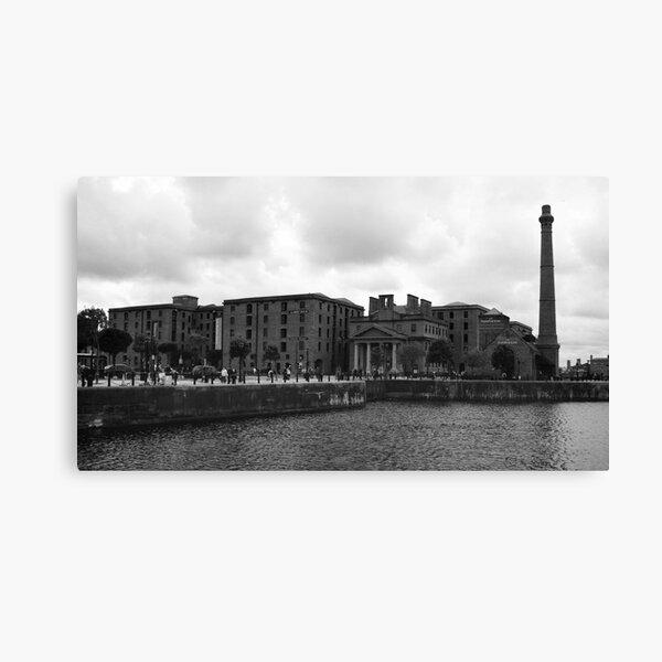 Albert Dock and Pump House, Liverpool Canvas Print