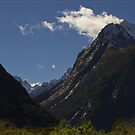 On the way in to Milford Sound by Chris Cohen