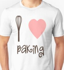 I heart Baking Unisex T-Shirt