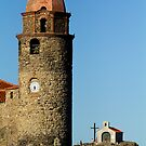 Colliure Clock tower andChapel by SWEEPER