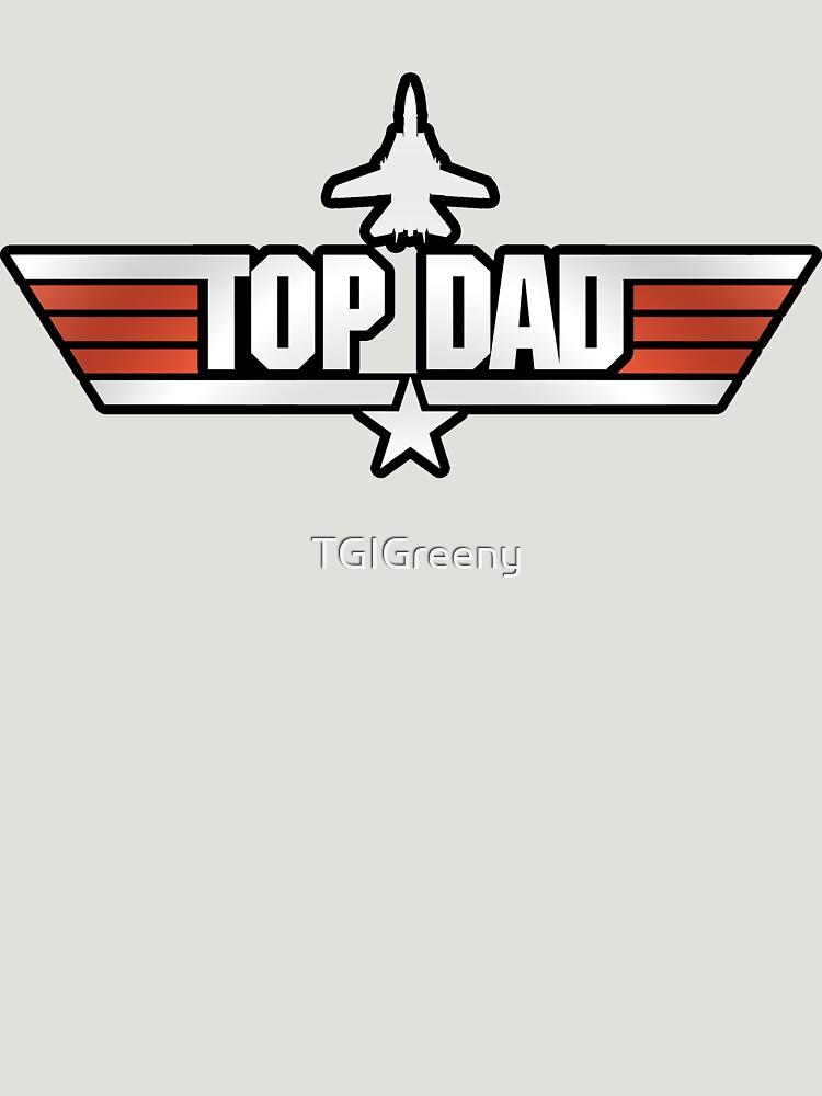 Top Gun style T-Shirt (Top Dad) | Unisex T-Shirt
