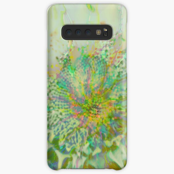 Floral abstraction Samsung Galaxy Snap Case