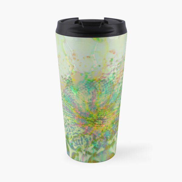 Floral abstraction Travel Mug