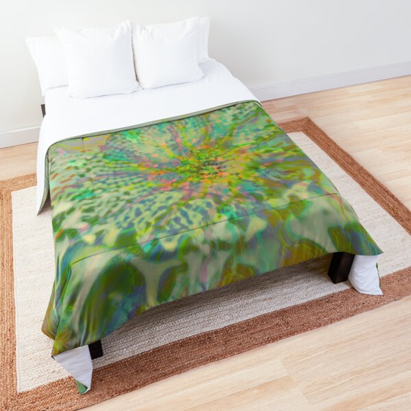 Floral abstraction Comforter