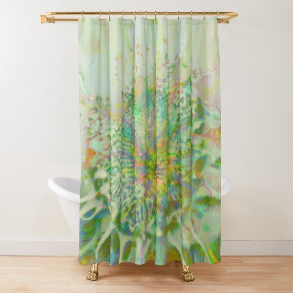 Floral abstraction Shower Curtain