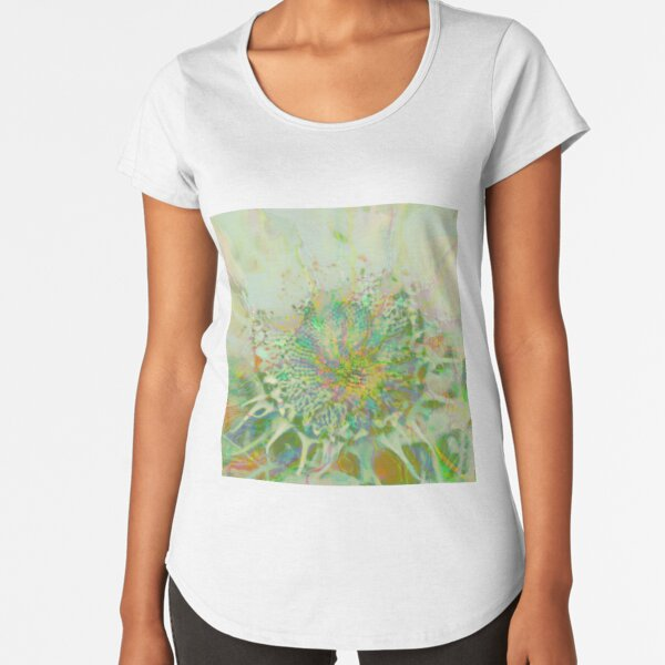 Floral abstraction Premium Scoop T-Shirt