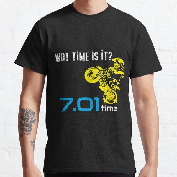 Wot Time is it? 701 Time Husqvarna Supermoto Enduro Husky 701  Classic T-Shirt