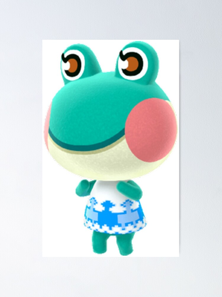 Animal Crossing Lily Poster By Lunar0000 Redbubble